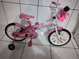 Bicicleta aro 16 Caloi Barbie
