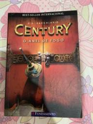 Livro o anel de fogo da coleção Century