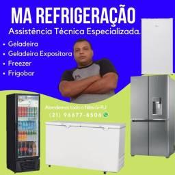Título do anúncio: Geladeira freezer frigobar etc...