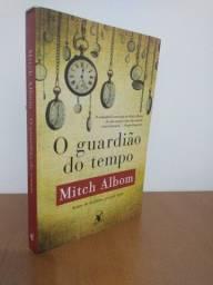 Livro O Guardião do tempo -  Mitch Albom (usado)