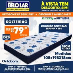 Título do anúncio: Colchão Solteirão Ortobom