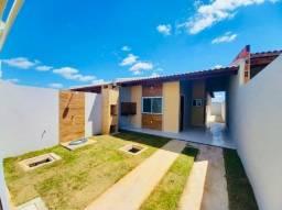 SI - Casa 2 quartos, 2 banheiros, varanda gourmet com churrasqueira, escritura grátis