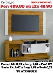 Liquida em Foz e Cascavel- Painel de televisão e Rack e Estante de TV