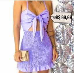 Título do anúncio: Vestido ametista