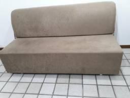 Sofá cama verde musgo