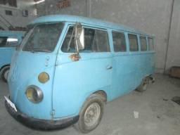 VW Kombi 66 van antiga corujinha T1