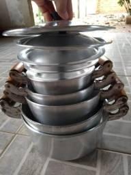 Panela de alumínio