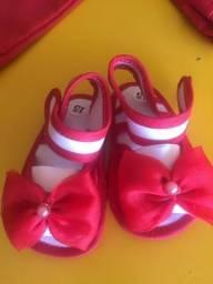 Sandálias/sapatilhas para bebê de 0 a 12 meses