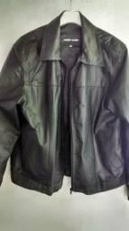 Jaqueta de couro Emporio Colombo