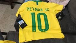 Camisa original Seleção brasileira 2018 Nike nova sem uso