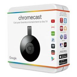 Chromecast 2 Google Hdmi Original 1080p Lacrado Smart Tv