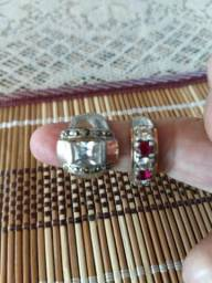Anéis antigos de Prata