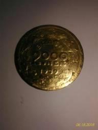 Moeda de 2000 Réis Década de 1939