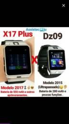 Smartwatch X17 (Relógio Inteligente)