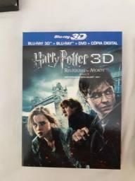 Coleção completa de Harry Potter em blu Ray