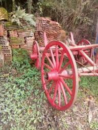 Rodas de carreta de boi