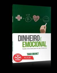 Livro Dinheiro é emocional - Tiago Brunet - Livraria Dunamis