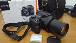 Câmera Sony HX400, 20.4Mp, Zoom 50x, GPS, Wifi, FullHD Semi Profissional =(Parcelo Cartão)