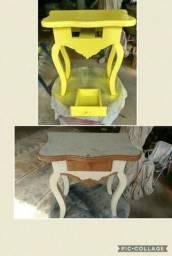 Laqueação de móveis e restauração