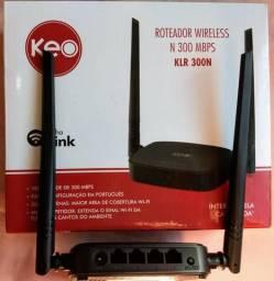 Roteador wireless wi-fi (KEO) linha Link