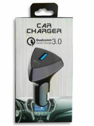 Carregador Veicular Car Charger Qualcomm
