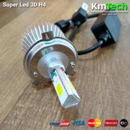 Super Led 3D Para Moto