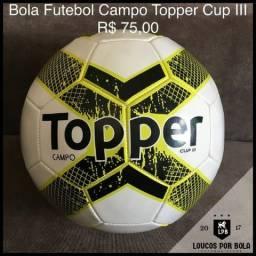 Bola Futebol Campo Topper Cup III 161d3b6011