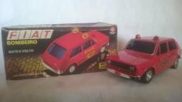 Brinquedo Antigo Estrela Fiat 147 Bate Volta Bombeiros