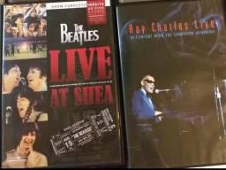 DVDs musicais diversos títulos