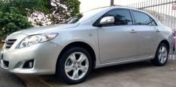 Toyota Corolla 2010 XEI (automatico) Banco de Couro, manual, chave reserva FLEx - 2010