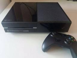 Xbox one fat com Duas manete HD interno e externo troco no ps4 Slim dou a Diferença