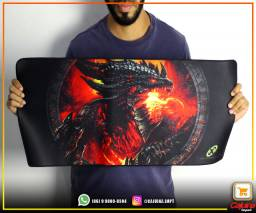 Mouse Pad Gamer Grande 70x35 t4dfs12sdf20