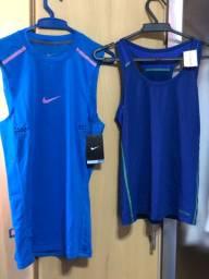 Kit c/ 2 regatas Nike e Calvin Klein Novas
