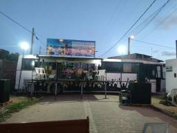 Motohomi palco estrutura pra evento etc