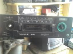 Rádio automotivo toca fitas motoradio opala caravan c10 fusca