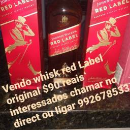 Vendo whisk red label original