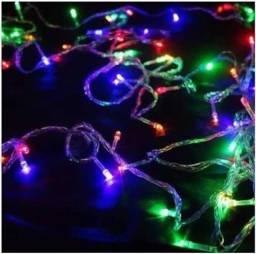 Enfeites e luzinhas de natal