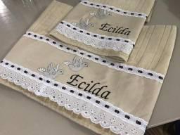 Personalizamos lindas toalhas de qualquer tamanho
