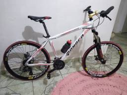 Vendo ou troco bike 26 monaco nova toda Shimano