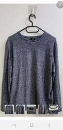 suéter h&m  - importado - m - malha acrilica - novo