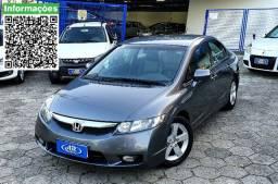 Para pessoas exigentes - Civic Sedan LXS 1.8 Flex 16V Aut. 4p - 2009 Impecável