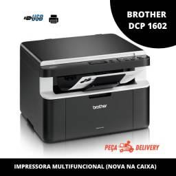 Impressora Multifuncional Brother DCP-1602 Laser nova na Caixa