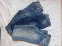 Calças Jeans teen, super baratinhas.