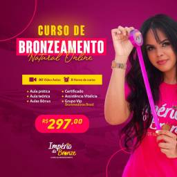 CURSO DE BRONZEAMENTO ONLINE