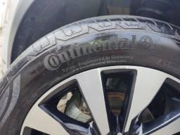Vendo jogo de pneu 205/55 r17 meia vida