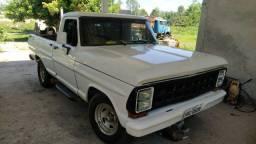 Ford F-1000 CS1986 turbo diesel MWM229 branca