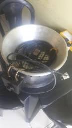 Máquina Eletrica De Fritar Batatinha, Salgados.