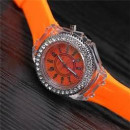 Relógio led novo importado