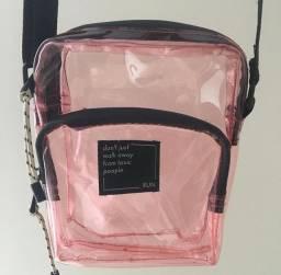 Bag rosa transparente
