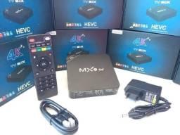 Tv Box Smart MX9 4gb ram 64gb 4k Wifi 5G Netflix Youtube Android